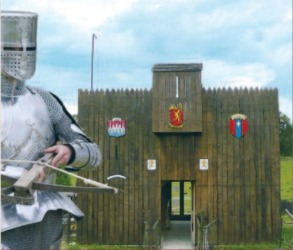 Découvrez un camp médiéval Entree2